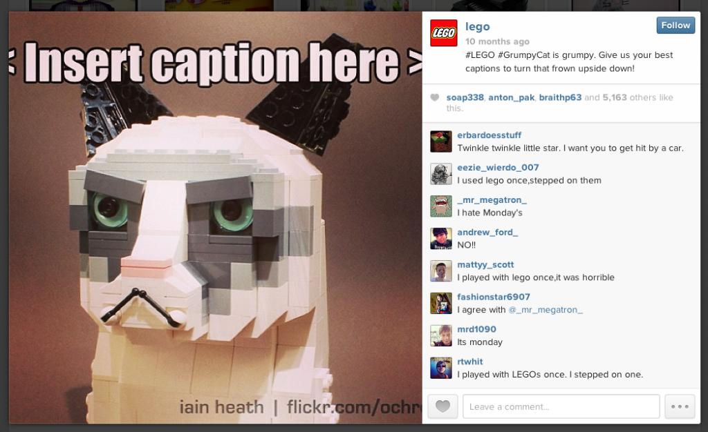 Reaktives Storytelling bei LEGO
