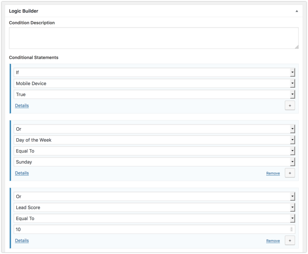 Framework zur Personalisierung einer WordPress-Website