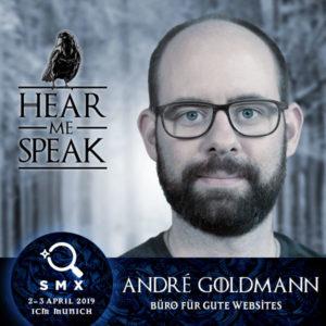André Goldmann auf der SMX München 2019
