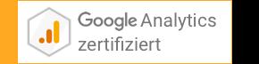 Das Büro für gute Websites ist für Google Analytics zertifiziert